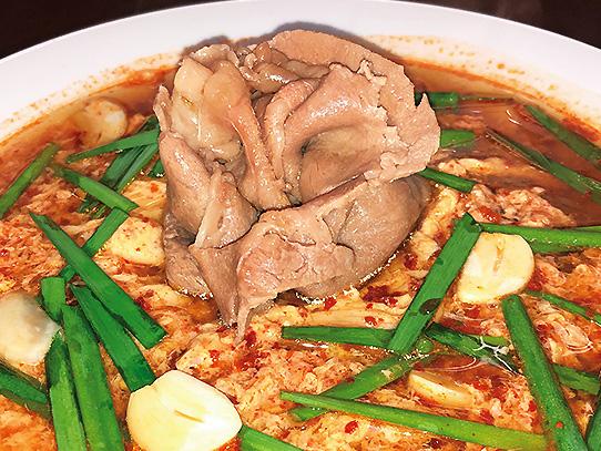 宮崎和牛辛麺(しゃぶしゃぶ)